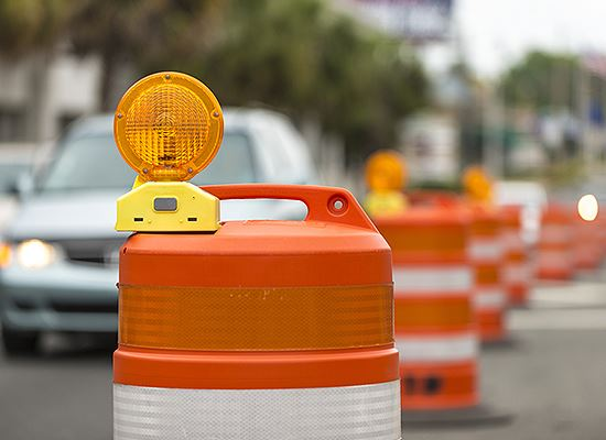 Street construction cones