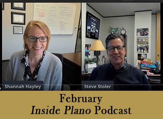 Inside Plano podcast Feb