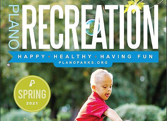 Plano Recreation spring 2021 cover 2