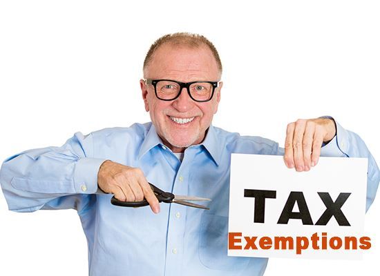Senior property tax exemptions
